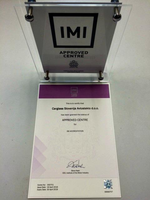 Certifikat IMI